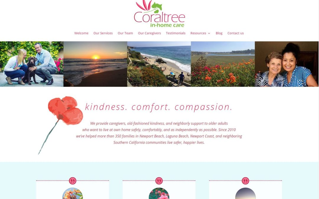 Coral Tree In-home Care – website