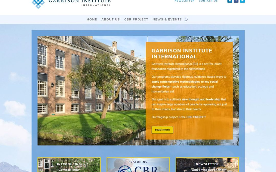 Garrison Institute International – website